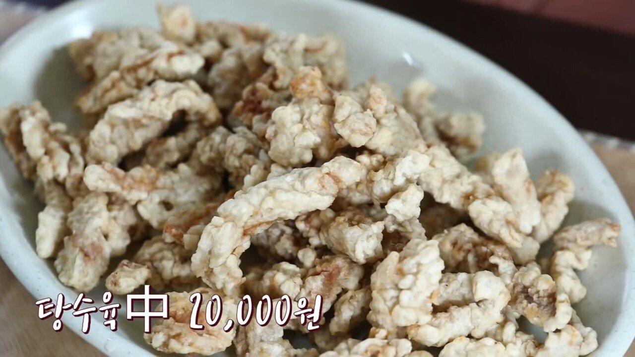 통영2탄 하루에5시간 여는 줄서서 먹는 짬뽕집! 사장님의 주문거부.. Korean mukbang eating show.mp4_20200713_201753.579.jpg 아침이라서 적게 먹었다는 쯔양 한 끼 식사