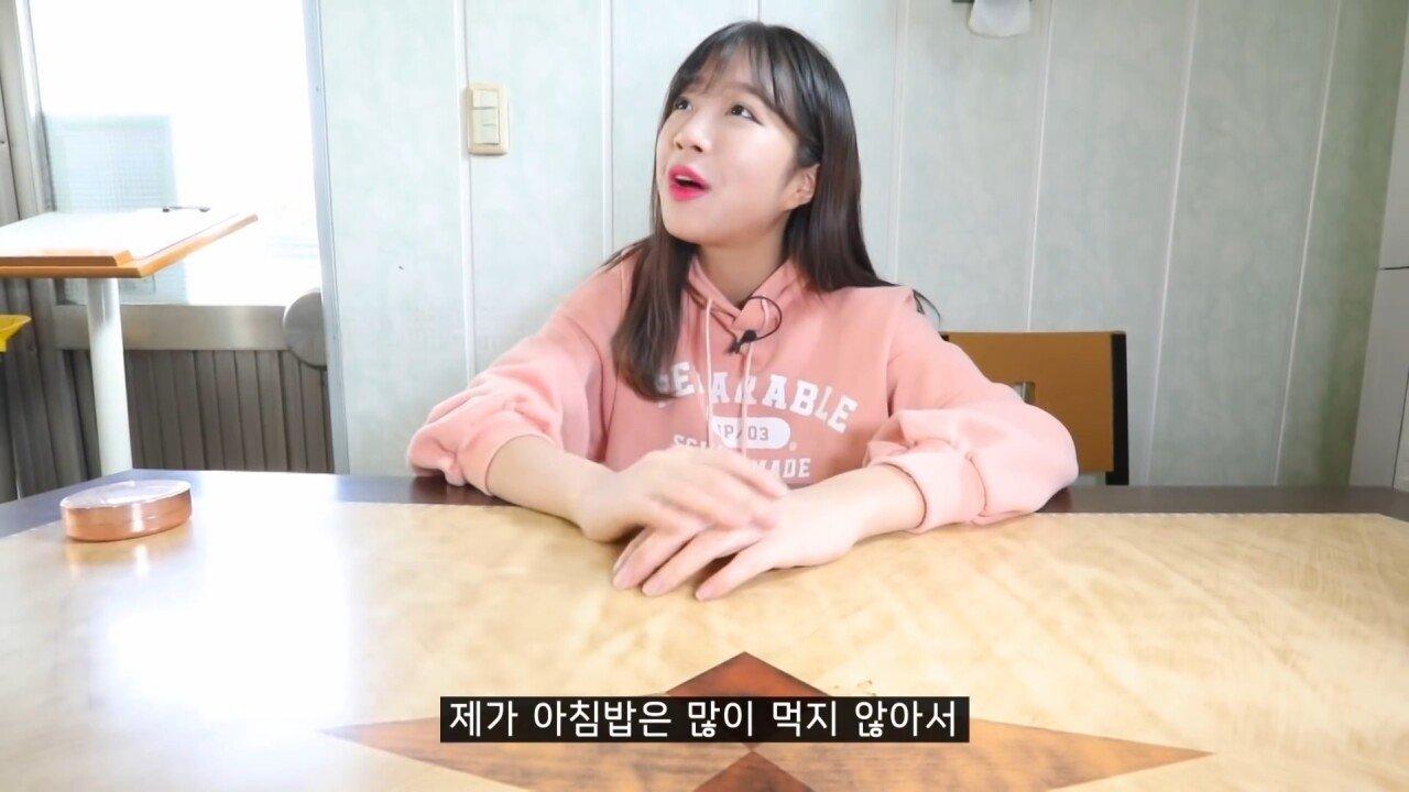 통영2탄 하루에5시간 여는 줄서서 먹는 짬뽕집! 사장님의 주문거부.. Korean mukbang eating show.mp4_20200713_201745.370.jpg 아침이라서 적게 먹었다는 쯔양 한 끼 식사