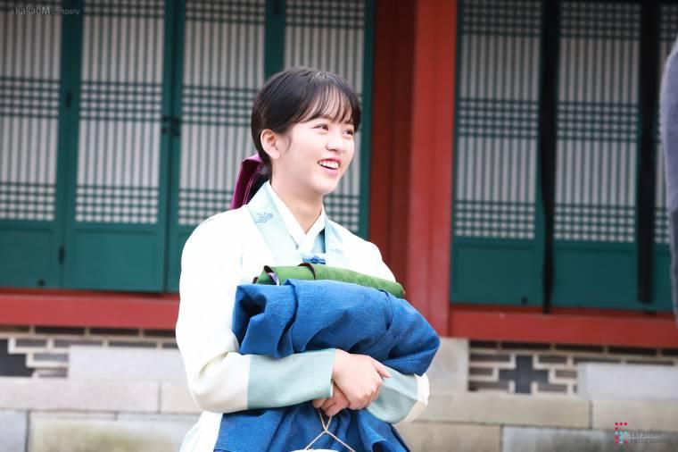 김소현 - 녹두전 촬영현장 비하인드